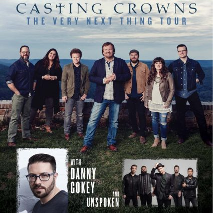 Casting Crowns with special guests Danny Gokey and Unspoken