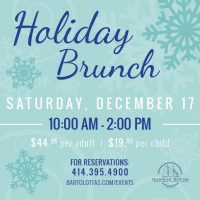 Holiday Brunch at Harbor House
