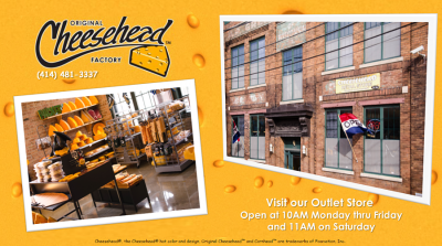 CheeseHead Factory & Retail Outlet
