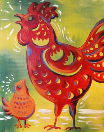 Splash Studio Presents: Year of the Rooster
