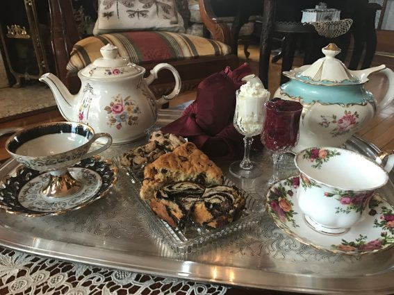 Low Tea with Pastries