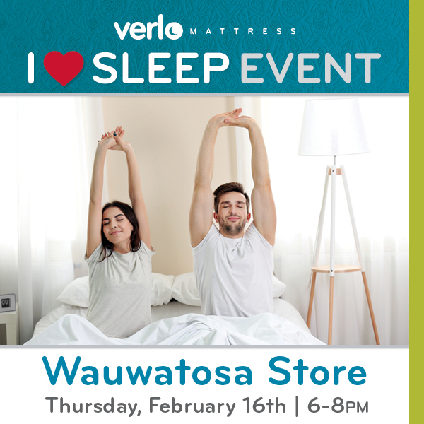Verlo S I Love Sleep Event Milwaukee365 Com