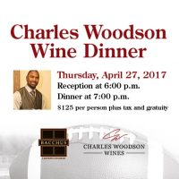 9th Annual Charles Woodson Wine Dinner @ Bacchus
