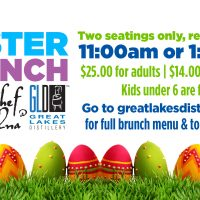 Easter Brunch at Great Lakes Distillery