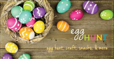 Egg Hunt at Little Sprouts Play Cafe