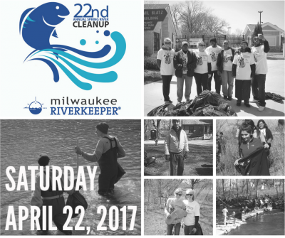 22nd Annual Spring River Cleanup - Milwaukee Riverkeeper