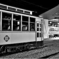 Night Photo Shoot on the East Troy Railroad