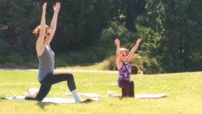 Spring Into Yoga at Boerner Botanical Gardens!