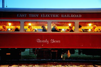 Burger Train on the East Troy Railroad