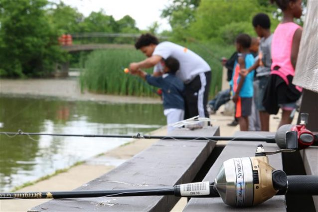 Family Fishing Adventure at the Urban Ecology Center