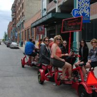 Seven Seat Bike Food Tour of the Historic Third Wa...