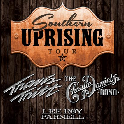 Southern Uprising Tour starring Travis Tritt, The Charlie Daniels Band, and Lee Roy Parnell