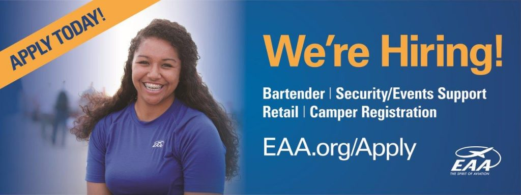 EAA Hiring Event (four sessions)