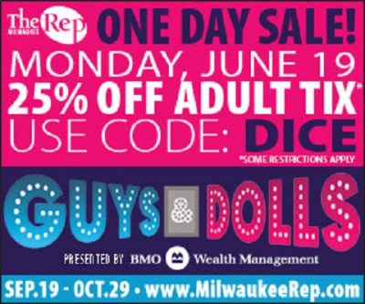 Guys and Dolls One Day Sale
