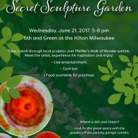Secret Sculpture Garden Opening Reception