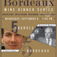 September Bordeaux Wine Dinner
