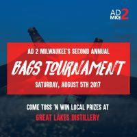 Ad 2 Milwaukee's 2nd Annual Bags Tournament