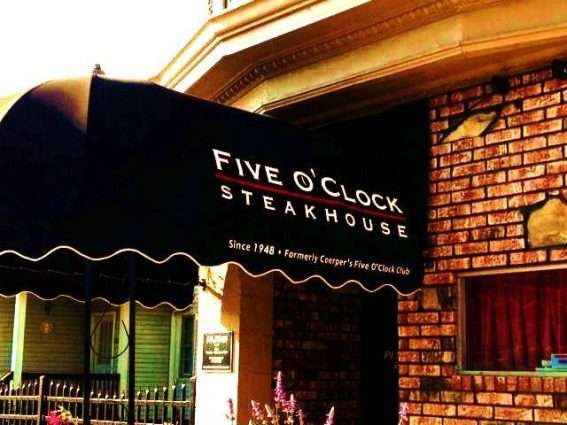 Humane Society @ Five OClock Steakhouse