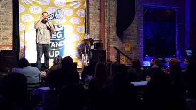 Lakefront Brewery Keg Stand Up - Comedy Fest Kick Off Event