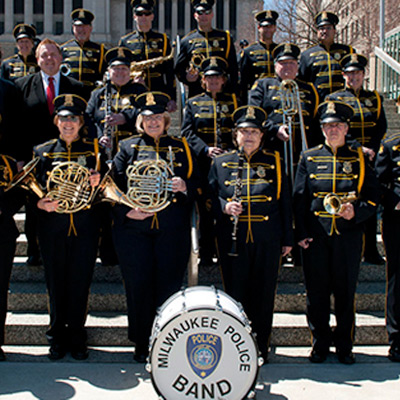 Live at Peck Pavilion: Milwaukee Police Band