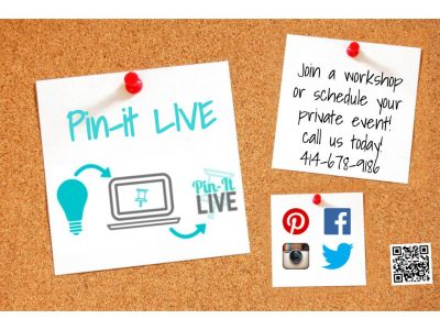 Pin-It LIVE Crafty Hour