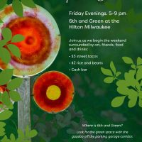 Secret Sculpture Garden Friday Happy Hour