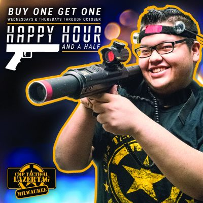 Happy Hour and a Half Laser Tag