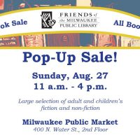 """Friends of MPL """"Pop Up"""" Used Booksale"""