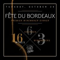 Fête du Bordeaux at Lake Park Bistro