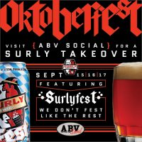 SurlyFest at ABV Social