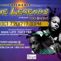The Legends starring Too Short, Scarface, and DJ Quik
