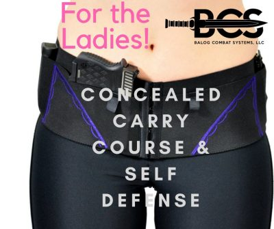 Women Welcome! Concealed Carry & Self Defense Alternatives