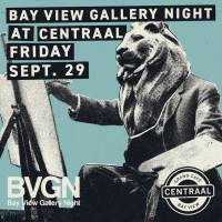 Bay View Gallery Night at Café Centraal