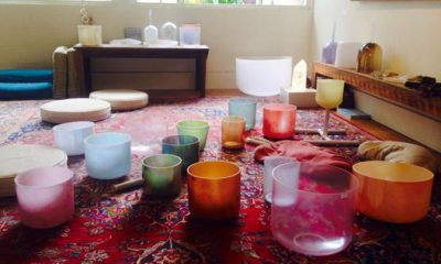Crystal Singing Bowls & Acupuncture