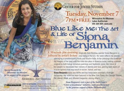 Blue Like Me: The Art & Life of Siona Benjamin