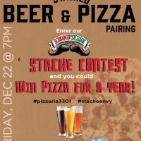 Screamin' Sicilian Mustachioed Beer & Pizza Pairing