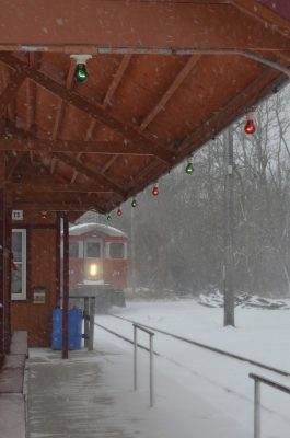 Christmas Train on the East Troy Railroad