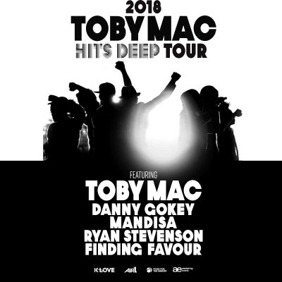 Toby Mac: The Hits Deep Tour with Danny Gokey, Mandisa, Ryan Stevenson, Finding Favour & Aaron Cole