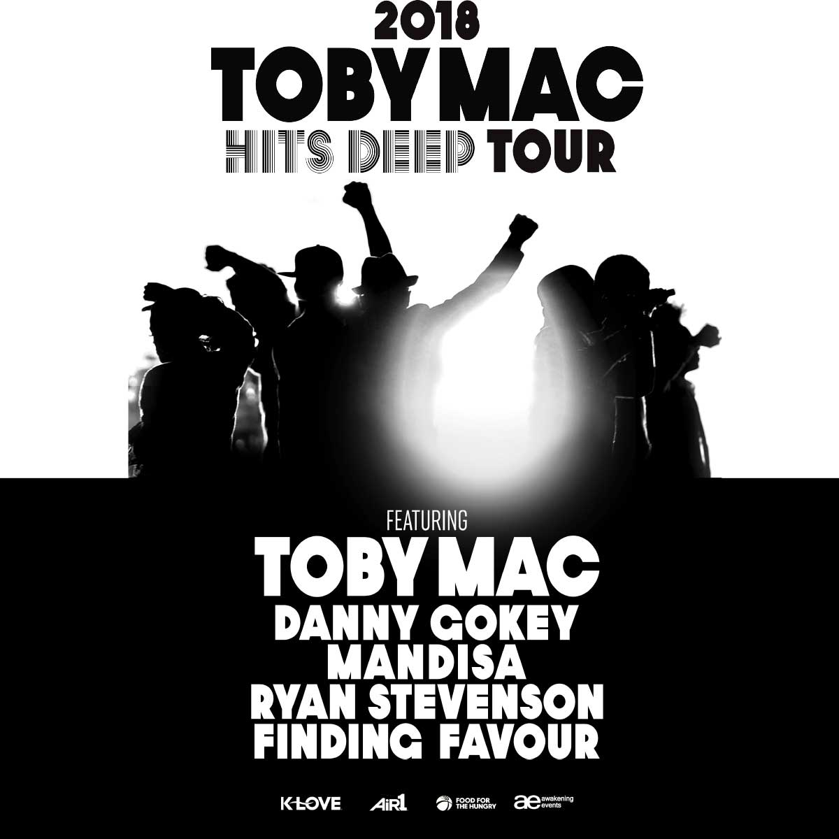Toby Mac: The Hits Deep Tour with Danny Gokey, Mandisa, Ryan ...