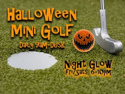 Halloween Mini Golf