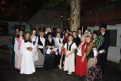 European Village Holiday Traditions Alive!