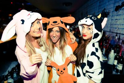 Mikey's Onesie Party!