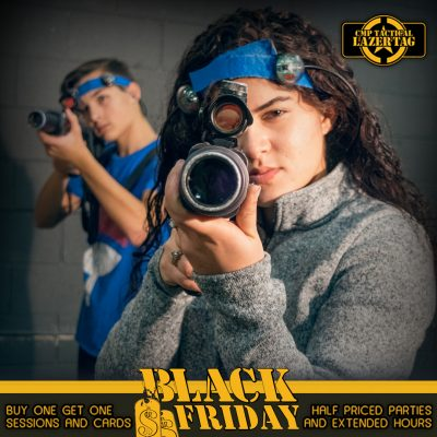 Black Friday Laser Tag