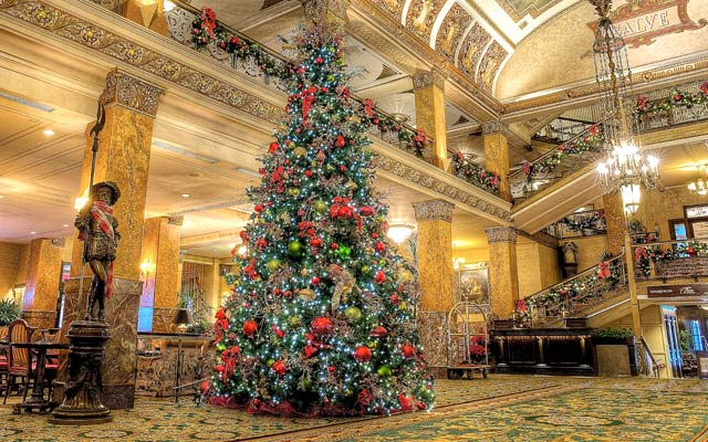 The Pfister Hotel's Annual Tree Lighting Event