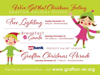 Grafton Christmas Parade & Breakfast with Santa