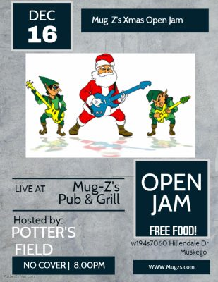 Mug-Z's Christmas Open Jam hosted by Potter's Fiel...