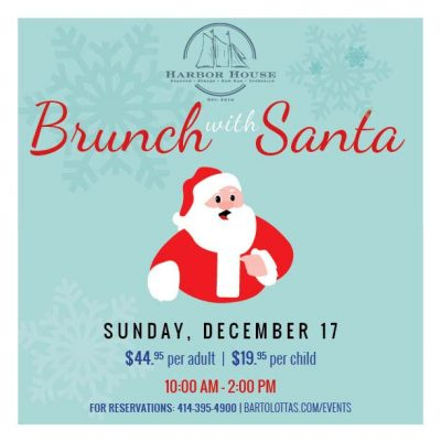 Brunch With Santa at Harbor House