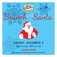 Brunch with Santa at Joey Gerard's