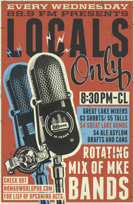 88.9 Presents Locals Only