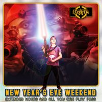 New Years Eve Weekend Laser Tag
